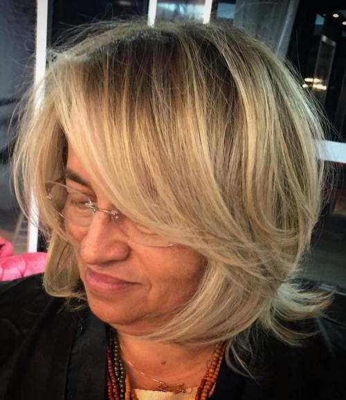Bob With Bangs For Women Over 50