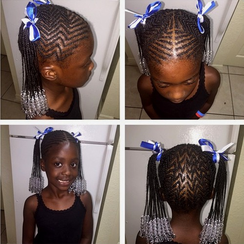 40 cool hairstyles for little girls on any occasion african american girls braided hairstyle urmus Image collections
