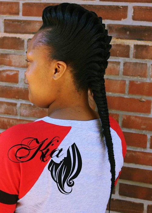 fishtail braid styles for black hair 40 awesome jazzed up fishtail braid hairstyles 2006