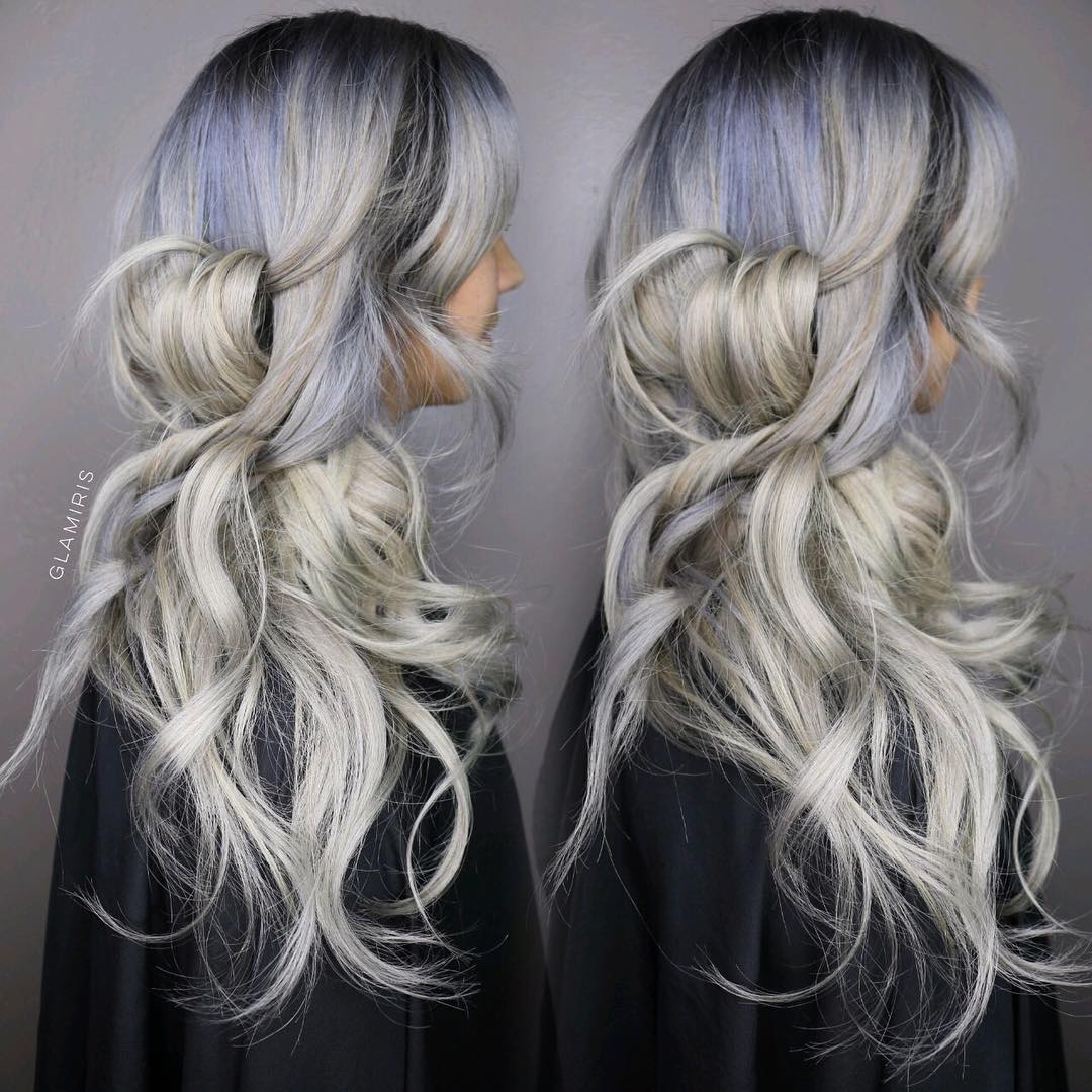 Long Messy Ombre Hairstyle