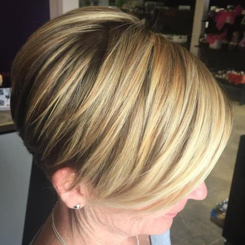 Over Blonde Balayage Bob
