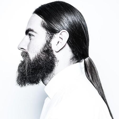 mens sleek ponytail