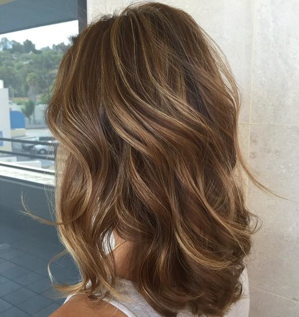 Dark hair ideas with highlights