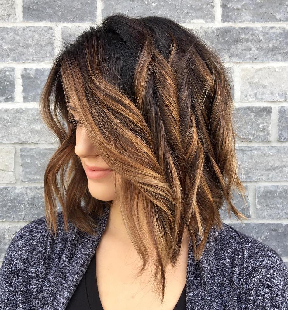 Caramel Highlights For Brunette Hair