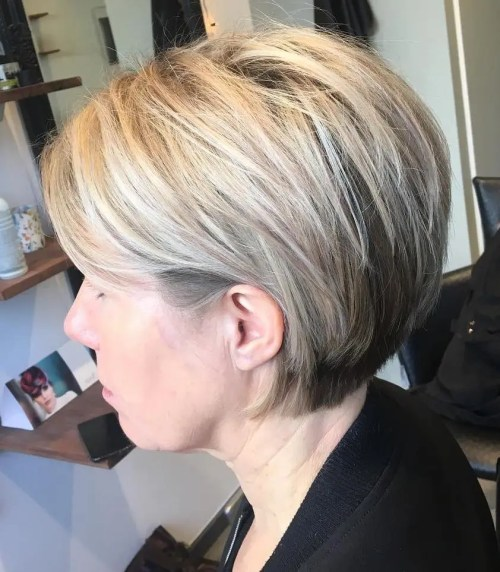 Short Layered Cut For Straight Hair