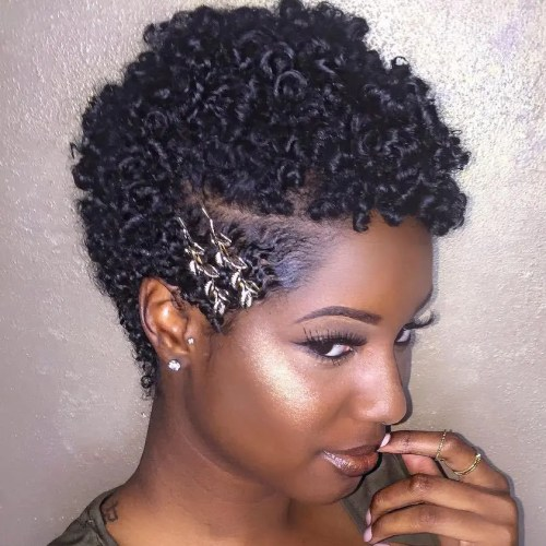 75 Most Inspiring Natural Hairstyles For Short Hair In 2018