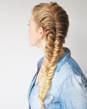 awesome jazzed fishtail braid