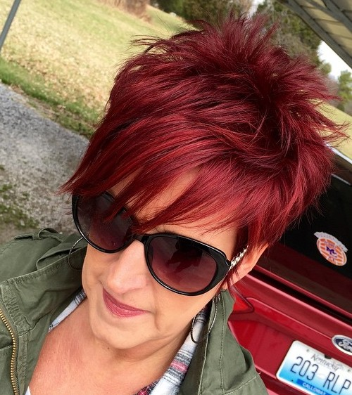 Best Hairstyles For Women Over 50 shorthairstylesforwomenover50 of short curly hairstyle for women over 50 annette bening hairstyle my style pinterest annette bening Spiky Pixie Hairstyle For Women