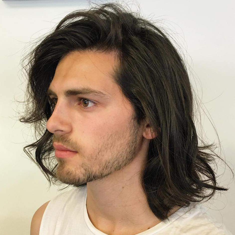 Great Long Tousled Hairstyle For Men