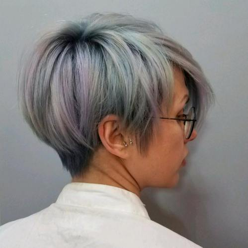 Cool Short Cut with Color