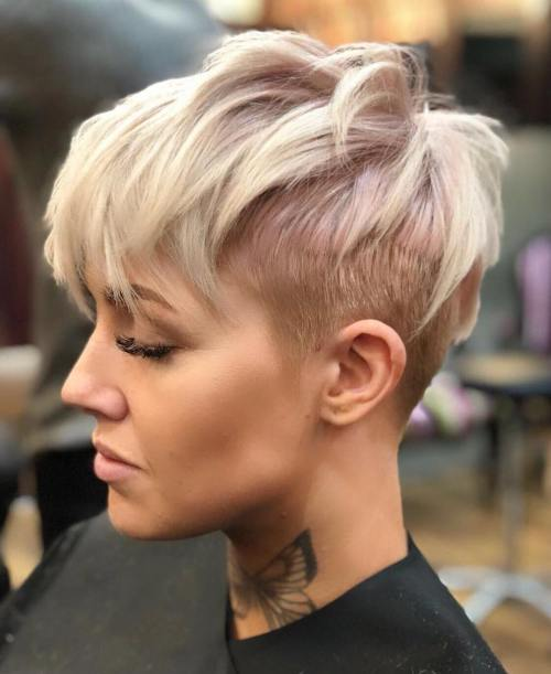 hair style from back 60 choppy hairstyles for any taste choppy bob 5388