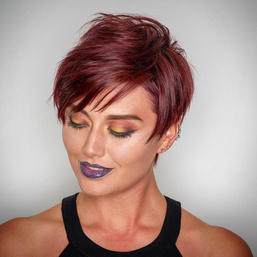 Pictures Of Short Funky Hairstyles For Women and hair color ideas