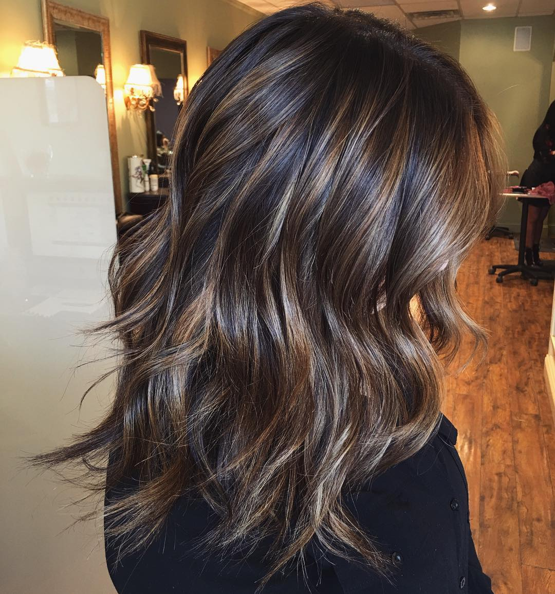 Medium brunette hair 2019