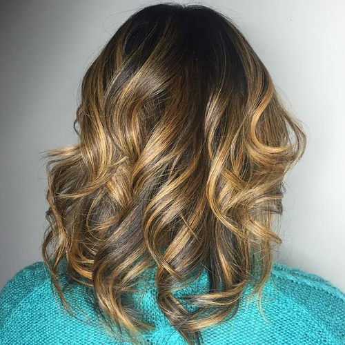 Incredible 60 Looks With Caramel Highlights On Brown And Dark Brown Hair Short Hairstyles For Black Women Fulllsitofus