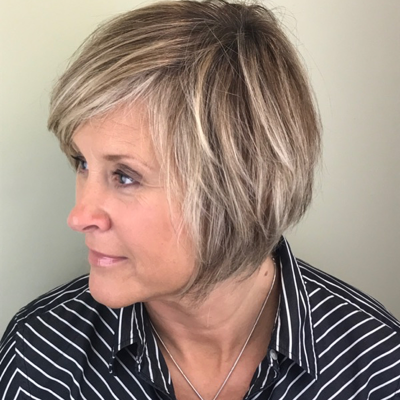 Good hairstyles for 50 year old woman