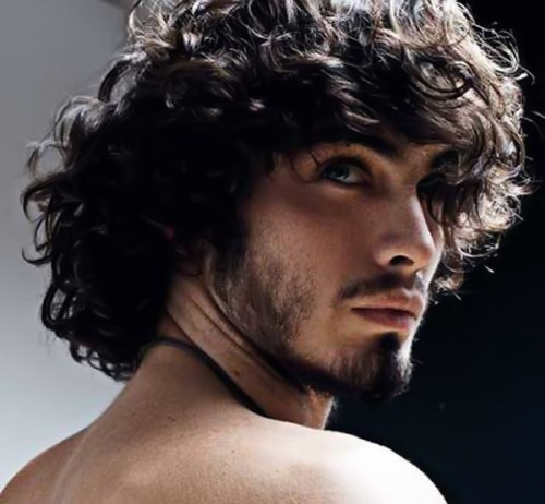 Hairstyles For Men With Curly Hair Long 55