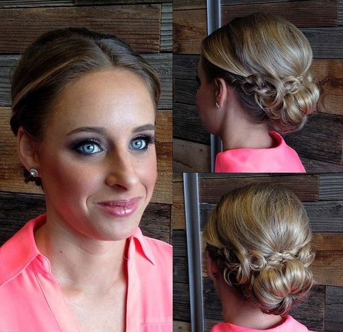 How to make a big hair bun with thin