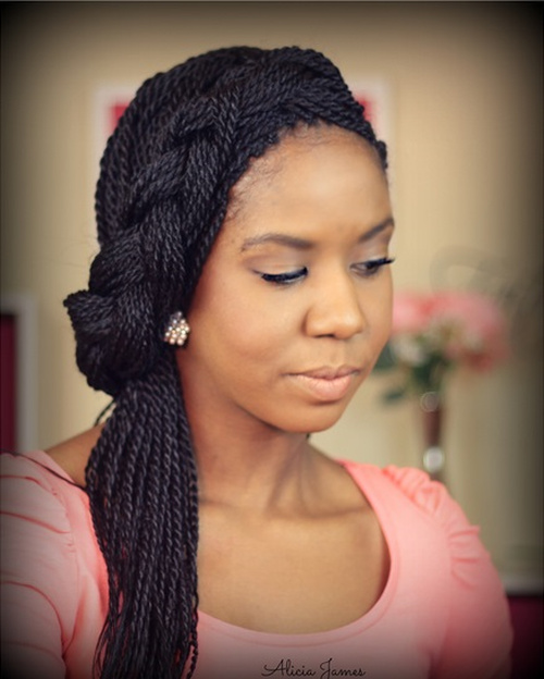 50 Thrilling Twist Braid Styles To Try This Season
