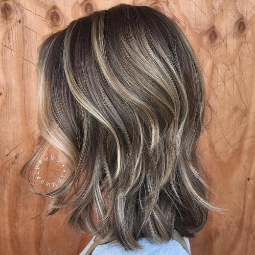 Subtle Blonde Highlights For Brown Hair