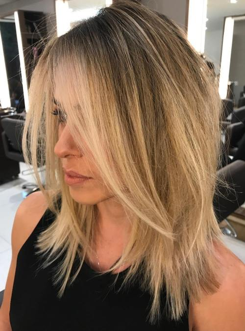 haircut fine hair 70 devastatingly cool haircuts for thin hair 2875 | 11 straight choppy honey blonde lob