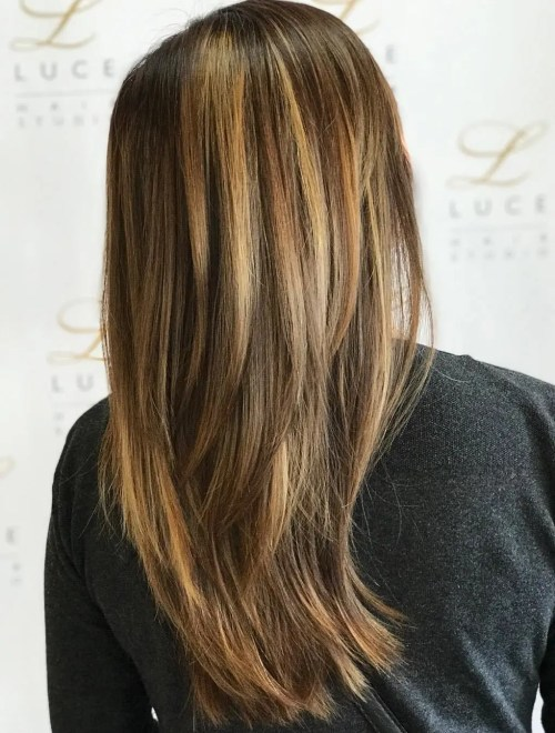 Longer Layered Cut For Straight Hair