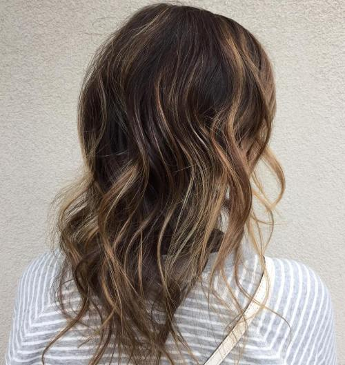 Long Hairstyle With Highlights For Thin Hair