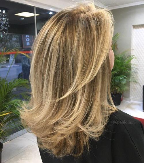 Medium Bronde Hairstyle
