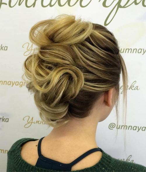 Wedding Hairstyle Roll: 60 Updos For Thin Hair That Score
