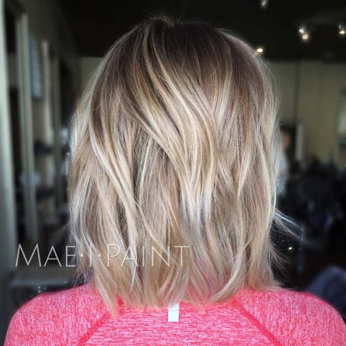 Blonde Bob Hairstyle For Fine Hair