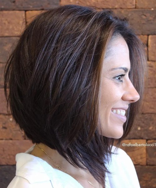 medium length bob haircuts for thick hair 60 most beneficial haircuts for thick hair of any length 3058