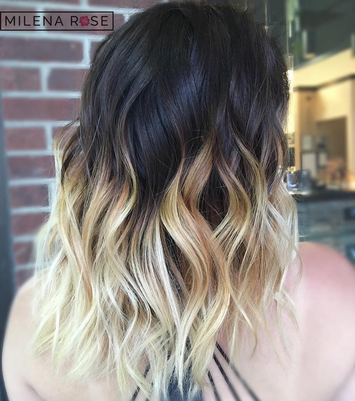 Black and blonde hair pics