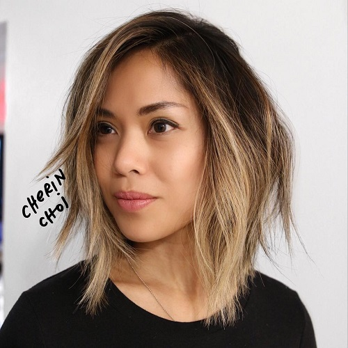 Brown Ombre Bob