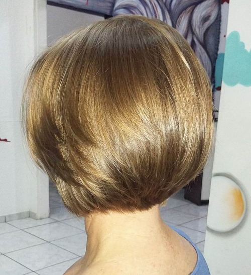 Layered Bob Haircut For Thick Hair