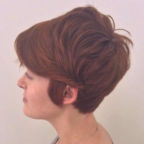 Long Layered Pixie Hairstyle
