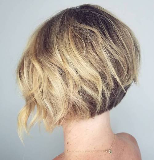 Short Bob With Choppy Layers