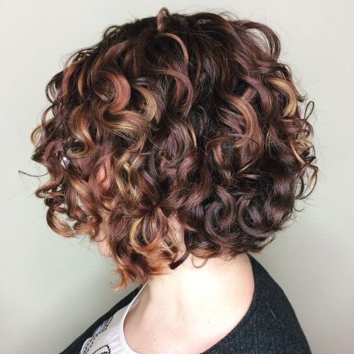 different curly hairstyles pictures 55 different versions of curly bob hairstyle 86352