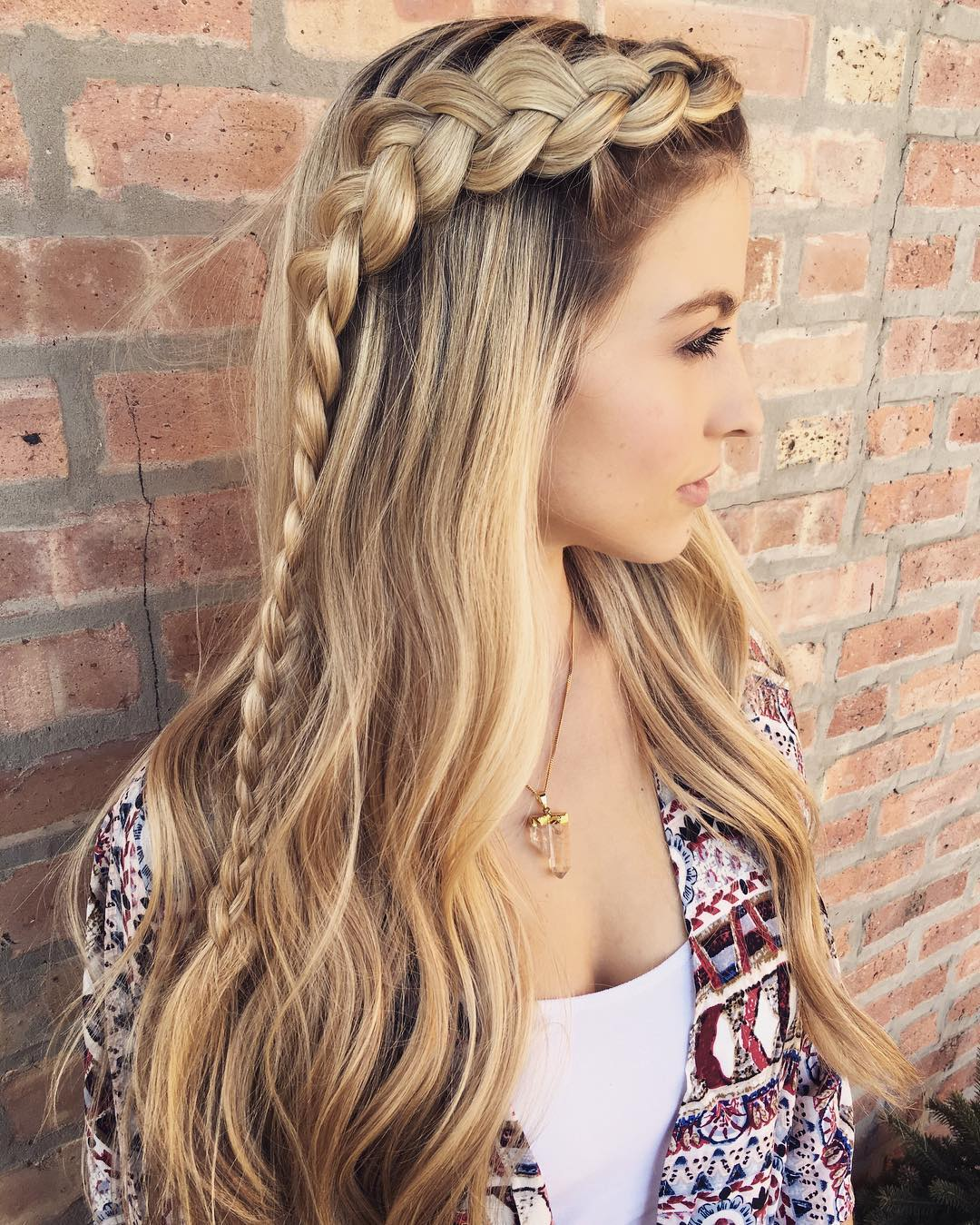 styles for thick long hair 20 hairstyles you will want to rock immediately 4756 | 13 long hairstyle with a braid