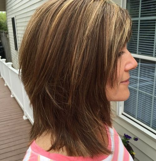 shag haircuts for thick hair 50 lovely shag haircuts for effortless stylish looks 1996