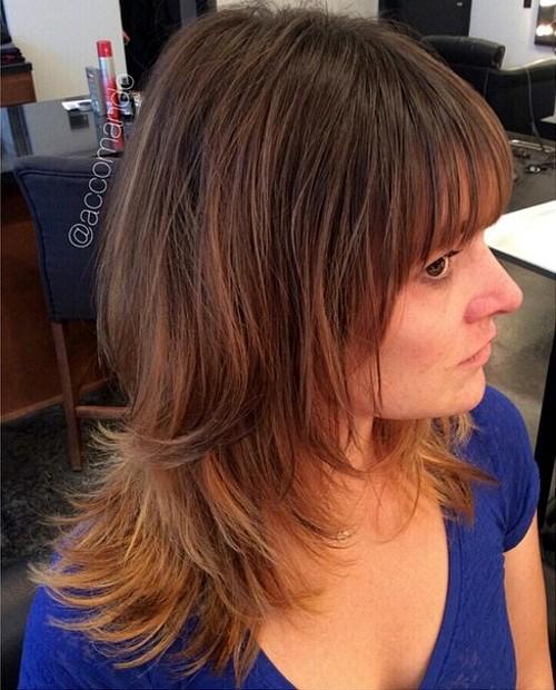 Medium Shag Hairstyles explore short shag haircuts and more Medium Shag Haircut For Thin Hair