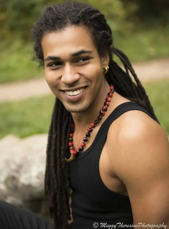 Long Black Men's Dreadlocks