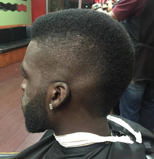 neat short mohawk for African American men