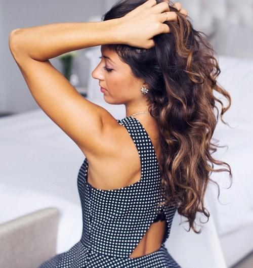 Headband Twists for Heatless Curls