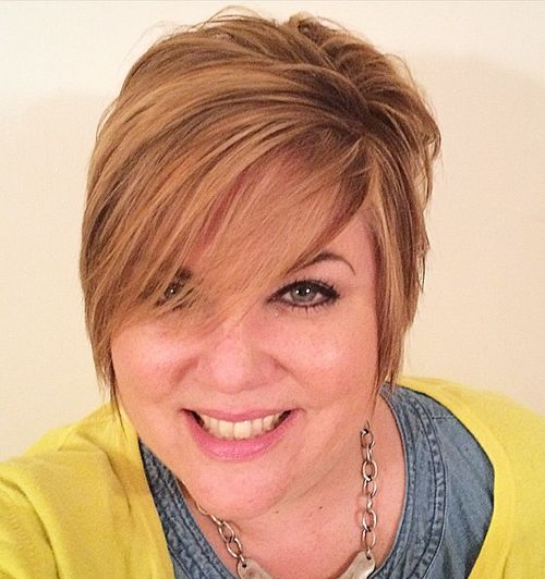 Fantastic 40 Cute Looks With Short Hairstyles For Round Faces Short Hairstyles Gunalazisus