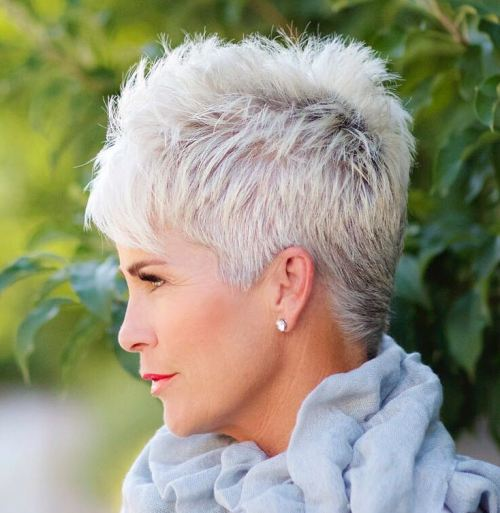 Short Pixie For Women Over 50