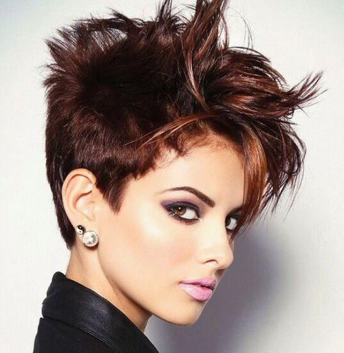 Astonishing 40 Short Shag Hairstyles That You Simply Can39T Miss Short Hairstyles Gunalazisus