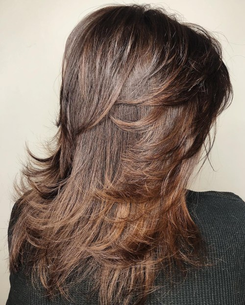Long Shag Haircut With Face-Framing Layers