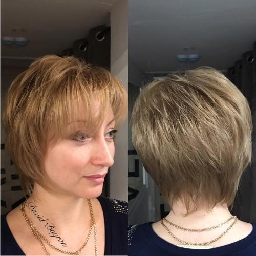 Short Shag For Thin Hair