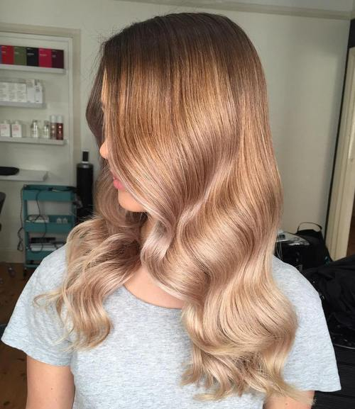 Blonde ombre hair to charge your look with radiance - Ombre hair blond selber machen ...