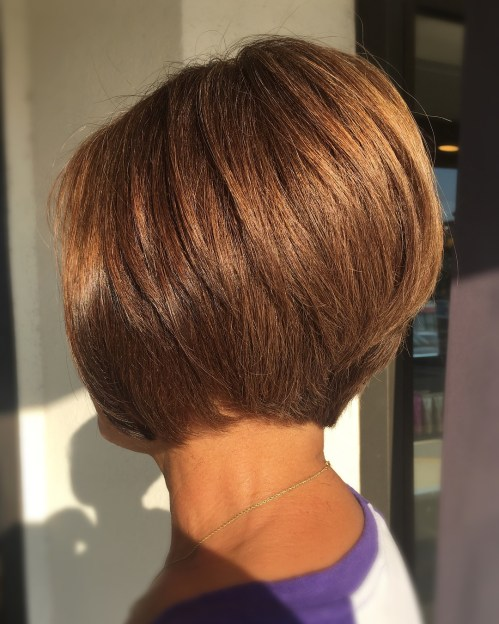 Nape-Length Cinnamon Brown Bob