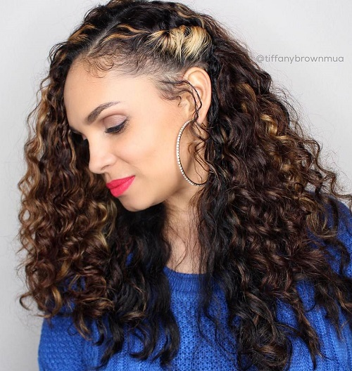 20 Cute Hairstyles for Naturally Curly Hair in 2018 ...